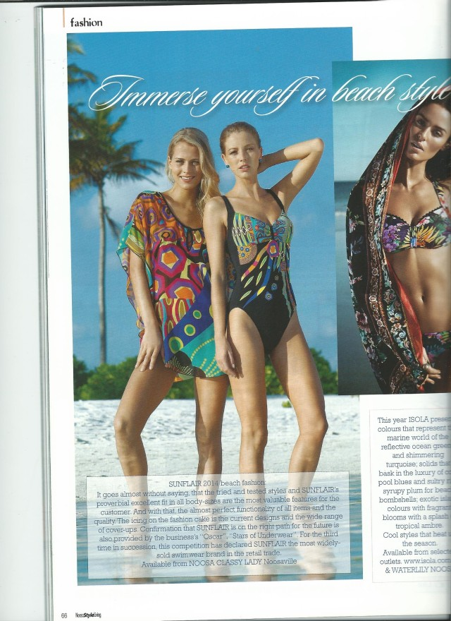 2014 03 Editorial in Noosa Style Magazine