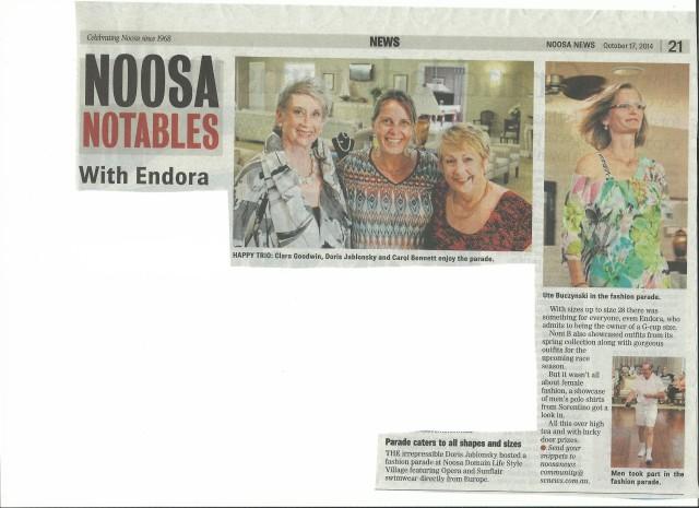 2014 10 17 Noosa News