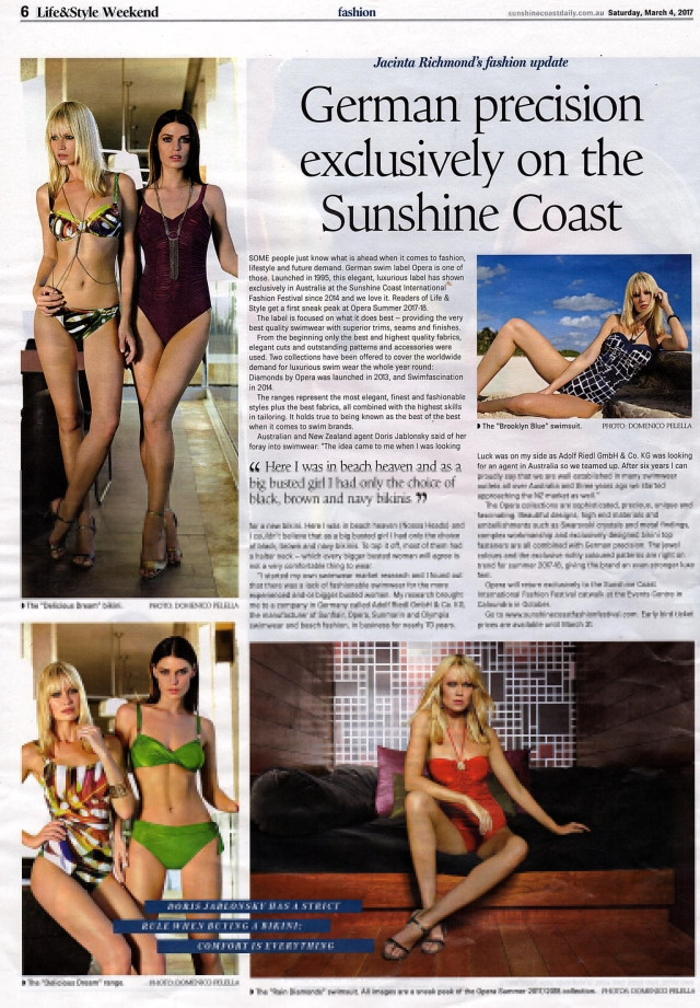 life and style magazine sunshine coast daily ed 4 march 2017 full page