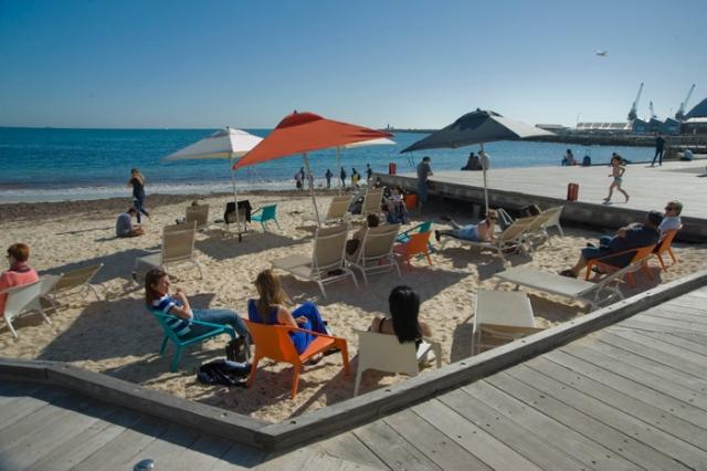 bathers-beach