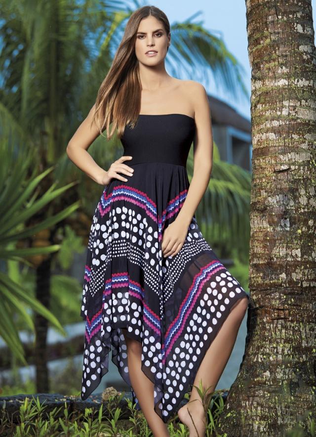 sunflair multi style dress